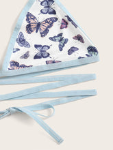 Load image into Gallery viewer, Total Sweet Butterfly Wrap Around Top