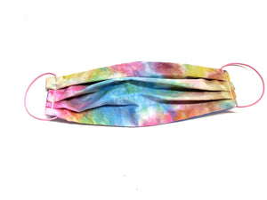 Tie Dye Surgical Style Face Mask , Dust Mask, Free Shipping - 1 filter included