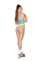 Load image into Gallery viewer, Rainbow Laser Romper Bodysuit