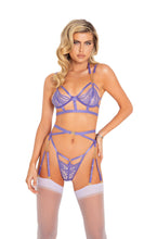 Load image into Gallery viewer, The Queen Chain Garter Belt Lingerie Set