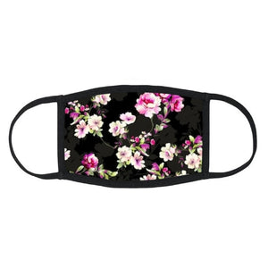 Floral Fabric Mask with Filter Pockets & Filters