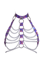 Load image into Gallery viewer, Knockout Queen PVC Chain Top Harness