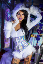 Load image into Gallery viewer, Holographic Waist Cincher