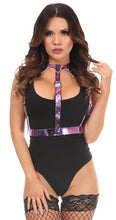 Load image into Gallery viewer, Purple Metallic Body Harness