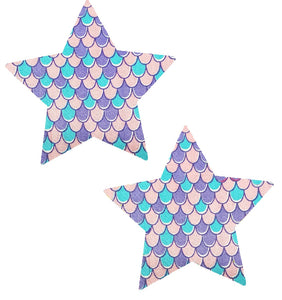 Pastel mermaid Star Pasties