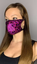Load image into Gallery viewer, Dance Revolution Holographic Face Mask - Rave Mask Style