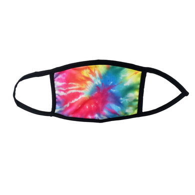 Tie Dye Sugar Face Mask - with 2 filters- Ready To Ship