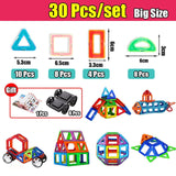 House Building Blocks Toys, Summer Pool Party Toy Building Set,  119PCS Big Size Magnetic Designer Construction Set Model & Building Toy. Magnets Magnetic Blocks Educational Toys For Children