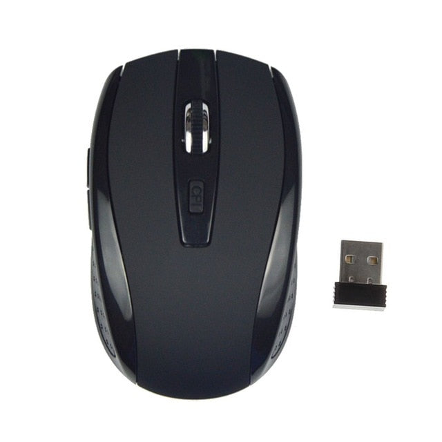 c22c1e8f4 ... 3 Adjustable DPI 2.4G Wireless Gaming Mouse 6 Buttons Laptop Notebook  PC Cordless Optical Game ...