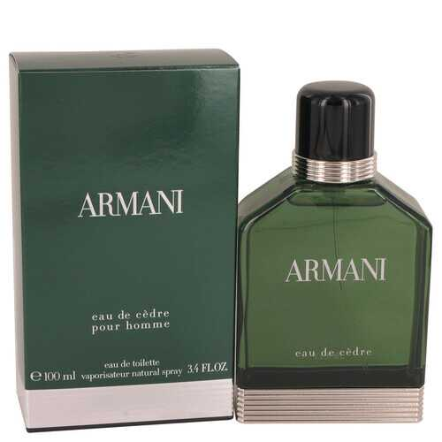 Armani Eau De Cedre by Giorgio Armani Eau De Toilette Spray 3.4 oz (Men)