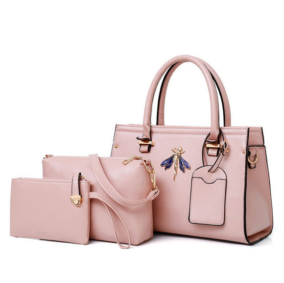 Bolsas Para Dama Handbags Women Bags 2019 Handbag Set 3 Pieces
