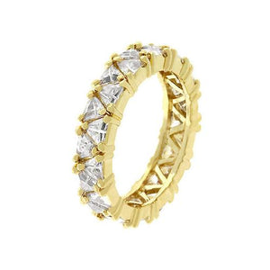 Golden Trillion Fashionista Ring (size: 09) (pack of 1 EA)