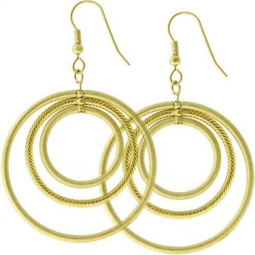 Golden Illusion Earrings (pack of 1 ea)