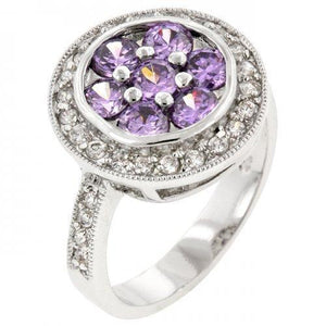 Lavender Lily Ring (size: 10) (pack of 1 ea)