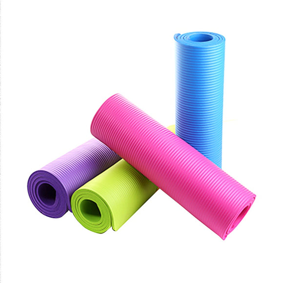 Utility 4MM Yoga Mat Exercise Pad Thick Non-slip Folding Gym Fitness Mat Pilate Supplies 4 Colors Non-skid Floor Play Mat - www-skylandmart-com