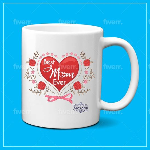 Best Mom Ever Coffee Mug Mom Mother Gifts Novelty Gifts for Mom from Daughter Son Women Mom Gifts for Mom Mother Printing 11 OZ