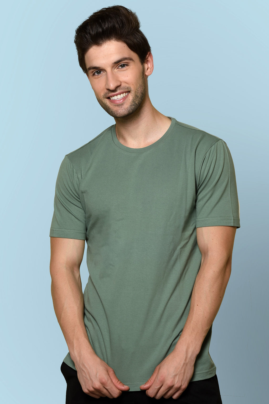 Smoky Green T-shirt by Beyours