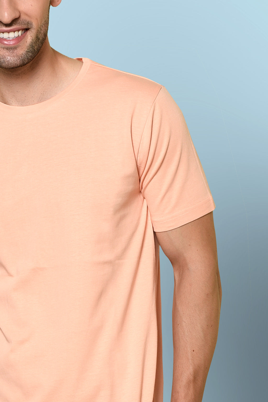 Light Apricot color T-shirt by Beyours