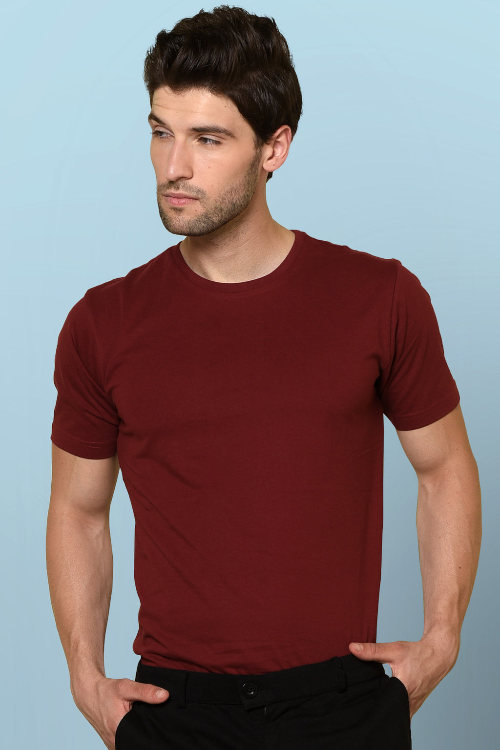 Milano Red color T-shirt by Beyours