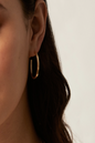 Load image into Gallery viewer, Muse Hoop Earring