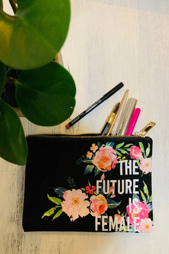 Future Is Female Make-up Bag