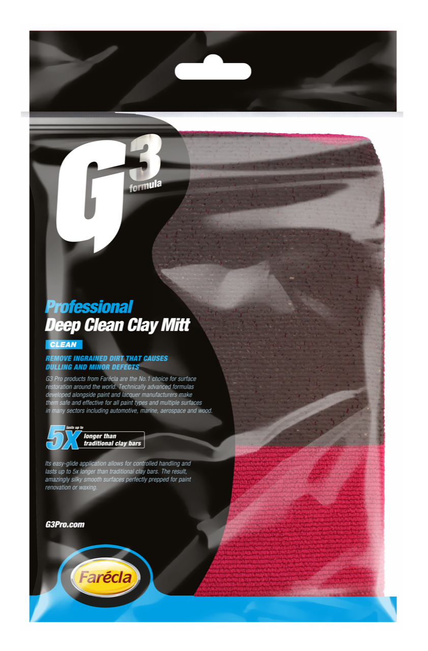 G3 PRO DEEP CLEAN CLAY MITT - Auto Fresh Detailing
