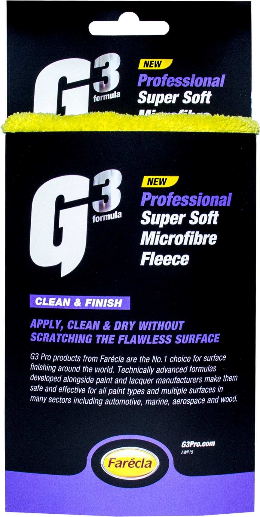 G3 PRO SUPER SOFT MICROFIBRE FLEECE - Auto Fresh Detailing