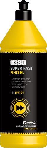 G360 SUPER FAST FINISH INCLUDING G MOP 6' SUPER HIGH CUT - Auto Fresh Detailing