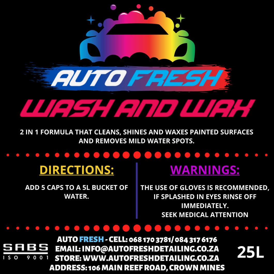 AUTO FRESH - WASH & WAX - Auto Fresh Detailing