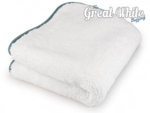 Monster Microfiber - 1300gsm Great White Buffing - Auto Fresh Detailing