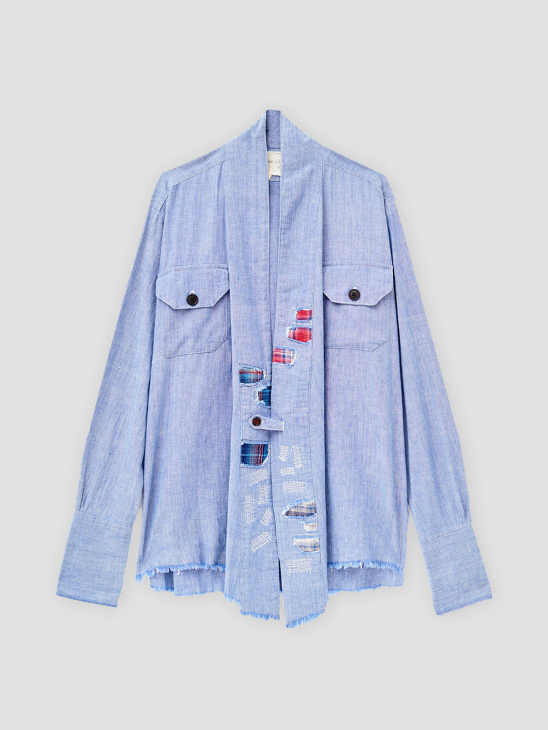 Greg Lauren Chambray GL1 Studio Blue