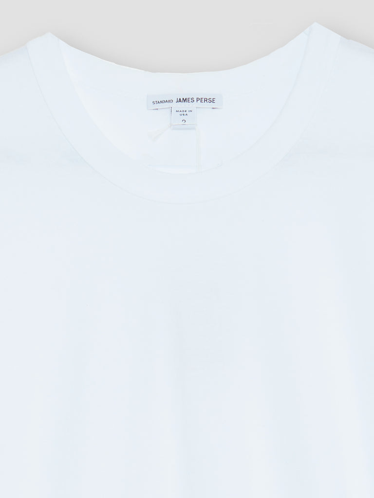 James Perse Basic Crew Short Sleeves Tee White