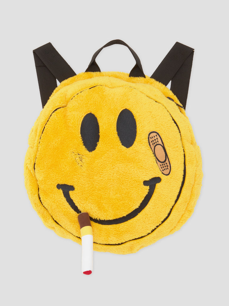 Natasha Zinko Duo Smile Backpack Yellow