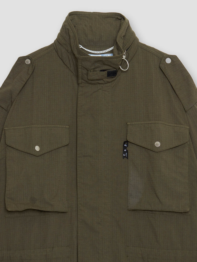 Off-White Arrow Field Jacket Military Green / Black