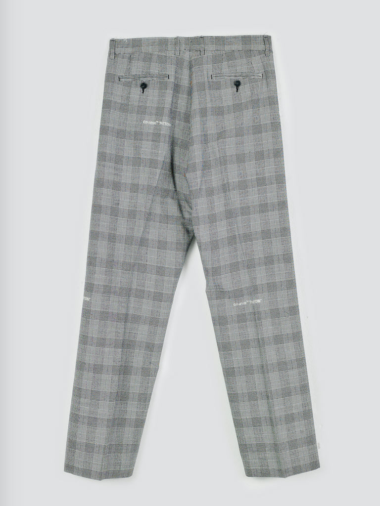 Off-White Classic Trousers Light Grey