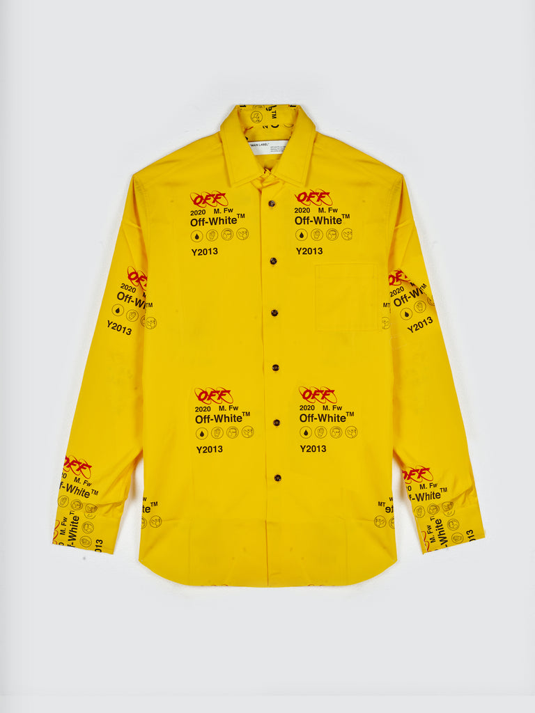 Off-White Industrial Shirt Yellow