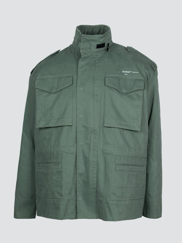 Off-White Padded Field Jacket Military Green