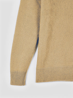 The Elder Statesman AW19 Simple Cashmere Sweater Camel