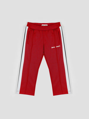 Palm Angels Kids Classic Track Pants Red