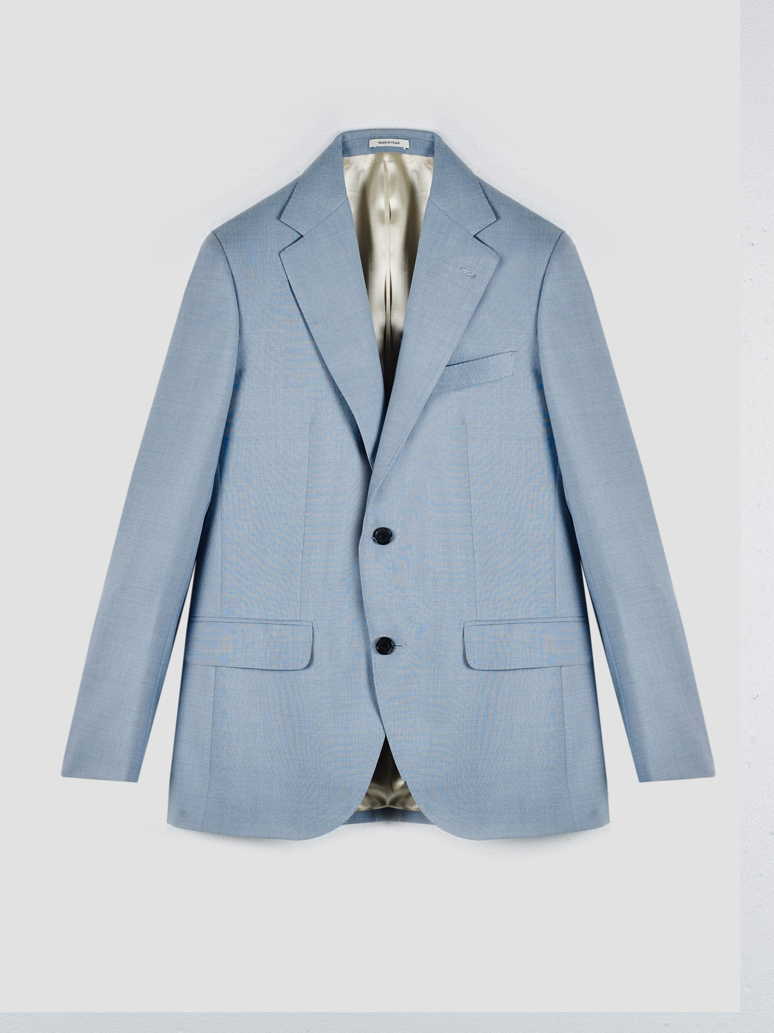 Husbands Light Blue Suit