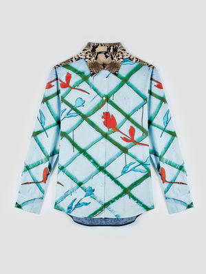 Exclusive CORMIO X BDC Classical Shirt SWANS