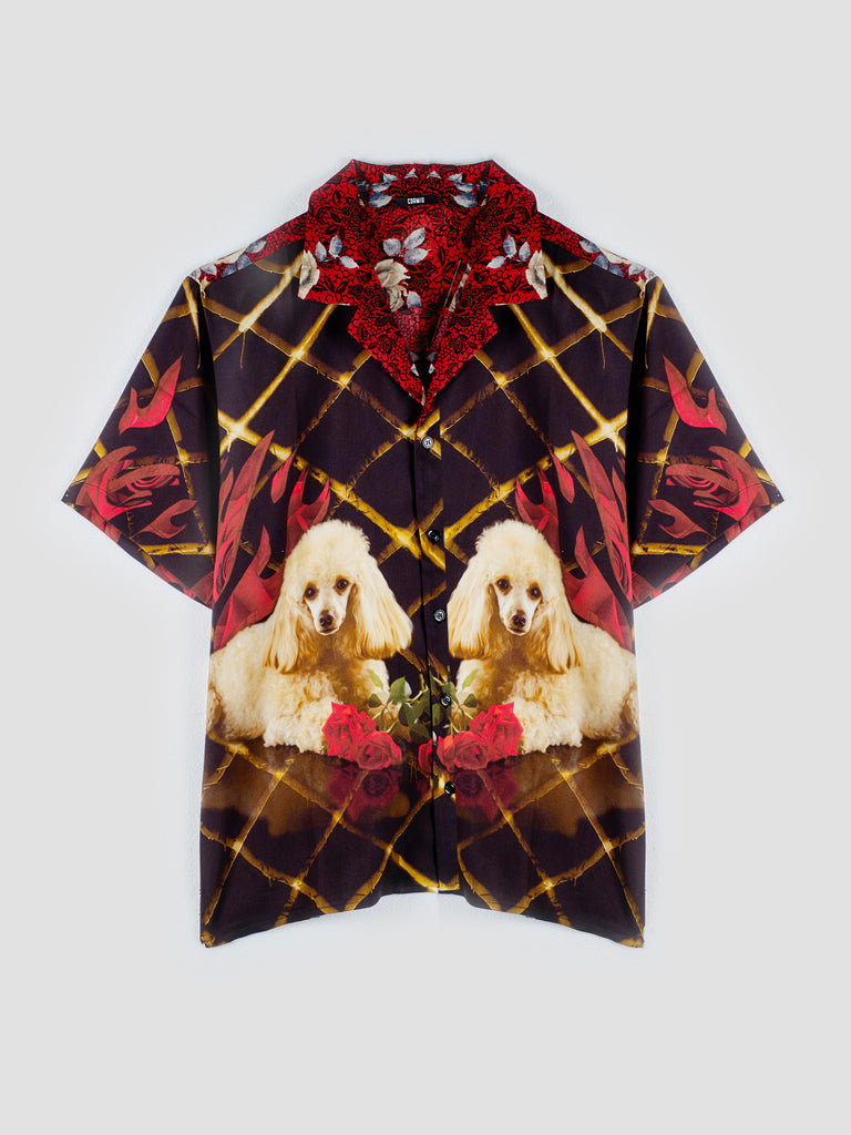 Exclusive CORMIO X BDC Printed Bowling Shirt