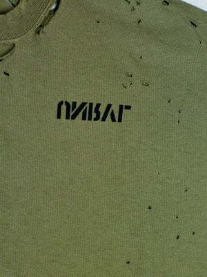 Unravel Army Green Short Sleeve T-Shirt