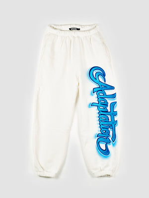 Adaptation Airbrushed White Sweatpants
