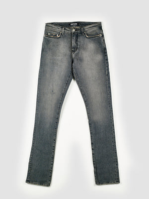 Adaptation Smoke Grey Slim-Fit Skinny Stretch Jeans