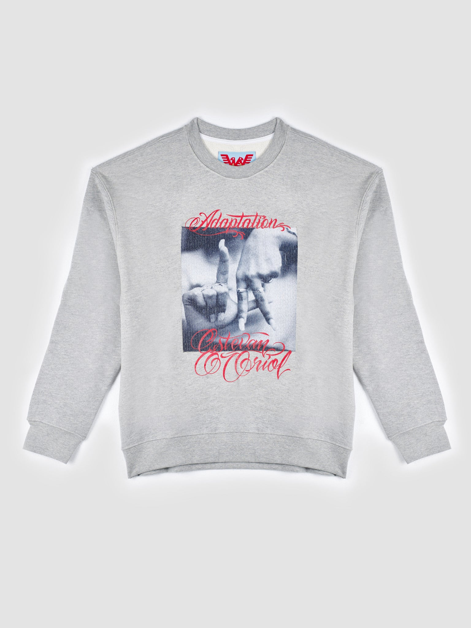 Adaptation Printed Crew Neck Sweatshirt