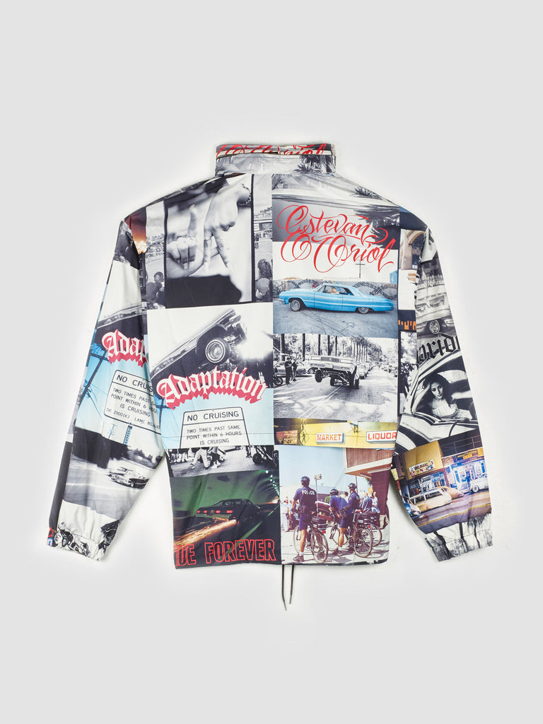 Adaptation Photo Print Track Jacket
