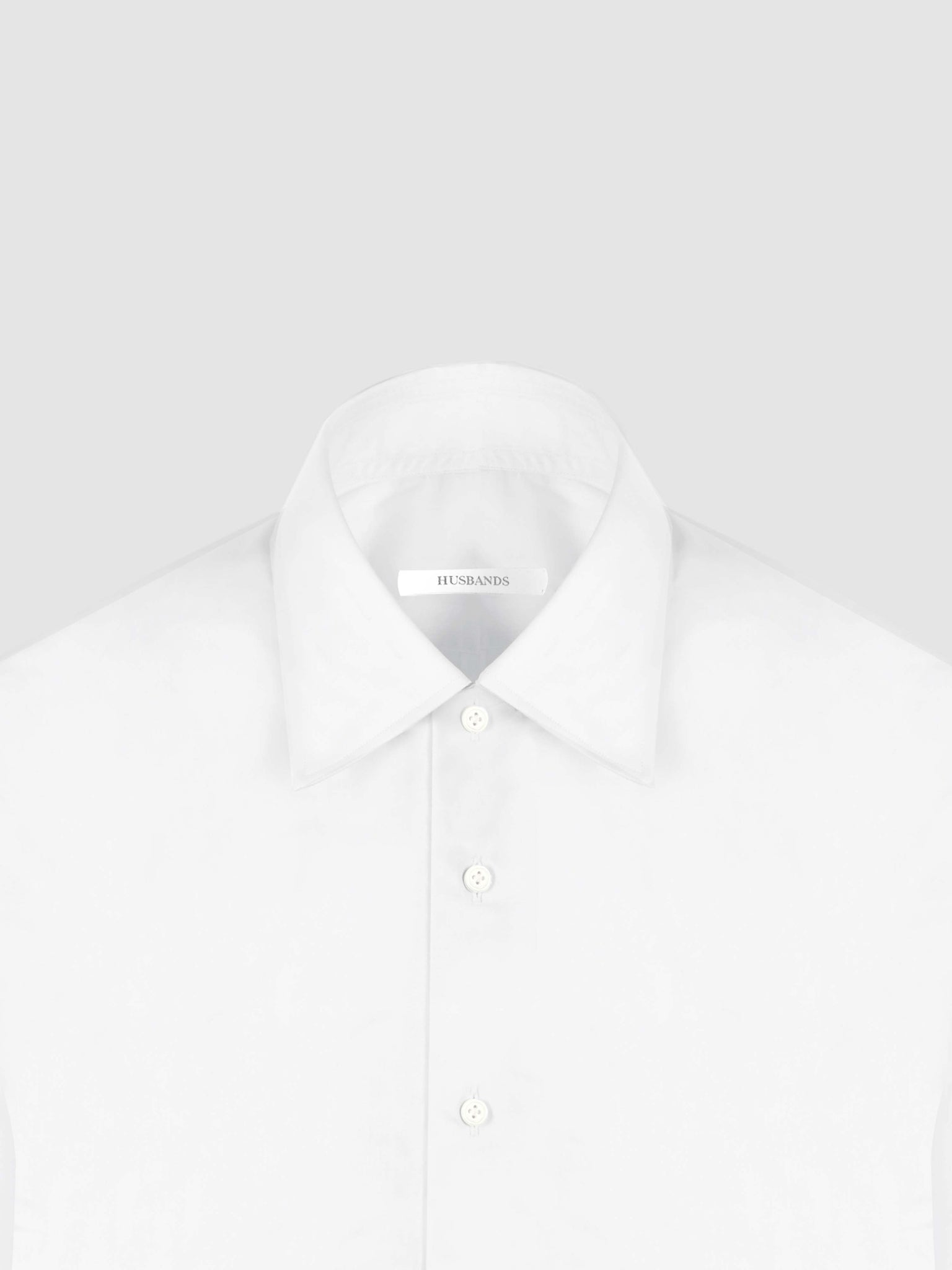 Husbands White Signature Shirt