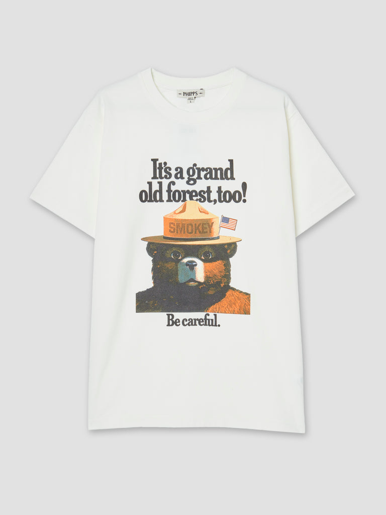 Phipps BDC Exclusive Smokey The Bear Tee White