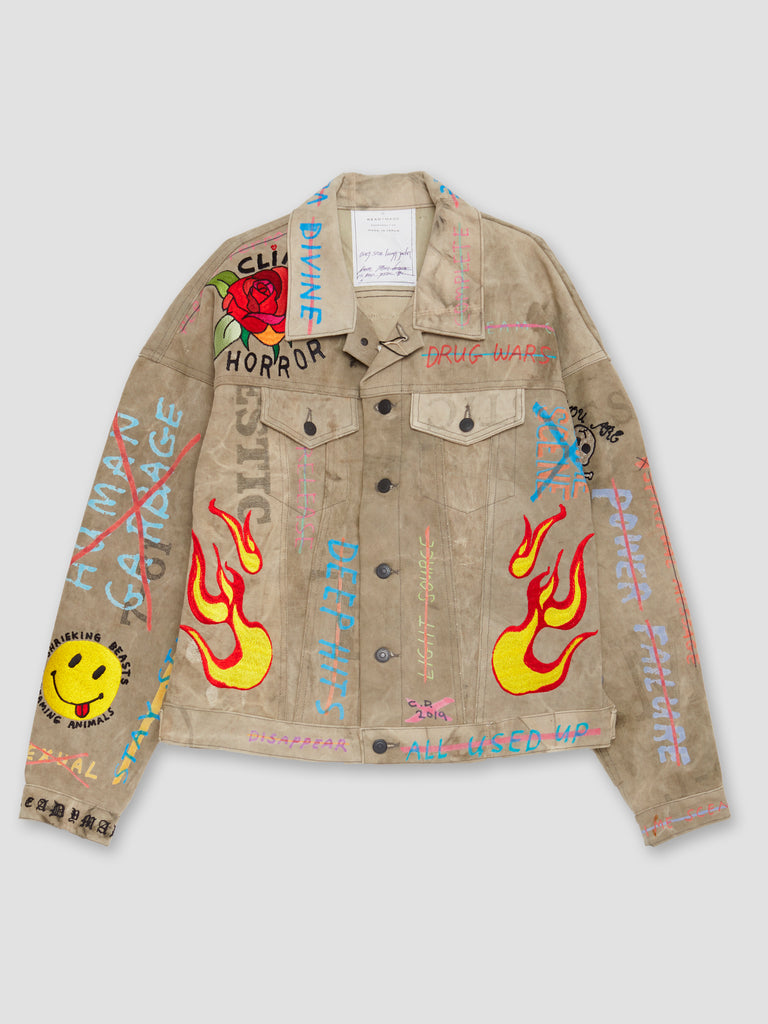 Readymade Oversize Embroidered Work Jacket